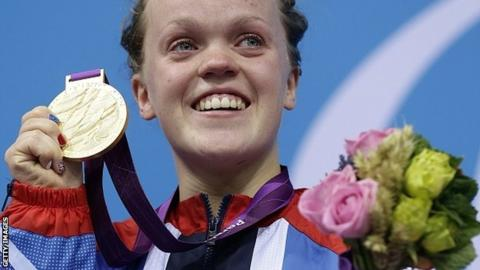 ellie simmonds winning gold